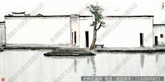 吴冠中国画作品70 超高清图片下载