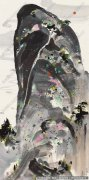 吴冠中国画作品74 超高清图片下载