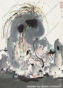 吴冠中国画作品78 超高清图片下载