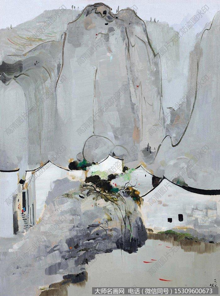 素材价格:¥4 支付方式:         吴冠中国画作品99 高清图片下载
