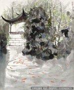 吴冠中国画作品99 超高清图片下载