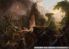 比尔史伯特风景油画1 高清图片下载
