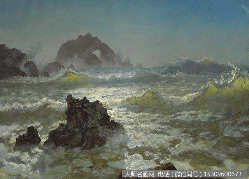 比尔史伯特风景油画4 高清图片下载