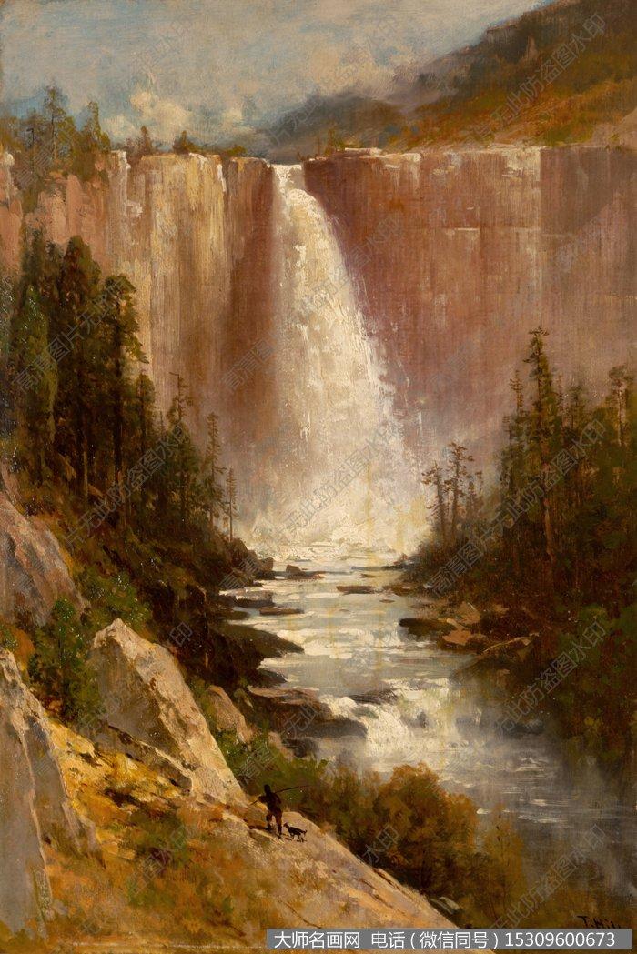 比尔史伯特风景油画7 高清图片下载