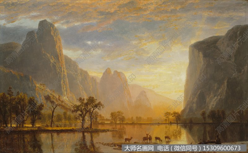 比尔史伯特风景油画作品6 高清图片下载