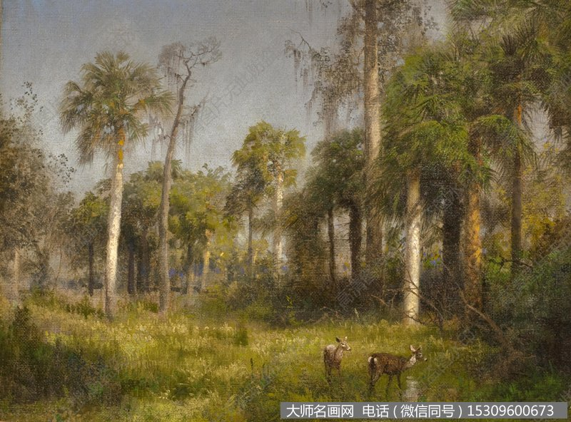 比尔史伯特风景油画8 高清图片下载
