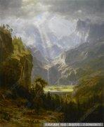 比尔史伯特风景油画作品27 高清图片下载