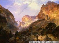 比尔史伯特风景油画作品29 高清图片下载