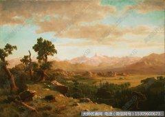 比尔史伯特风景油画作品32 高清图片下载
