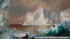 比尔史伯特海边风景油画作品34 高清图片下载