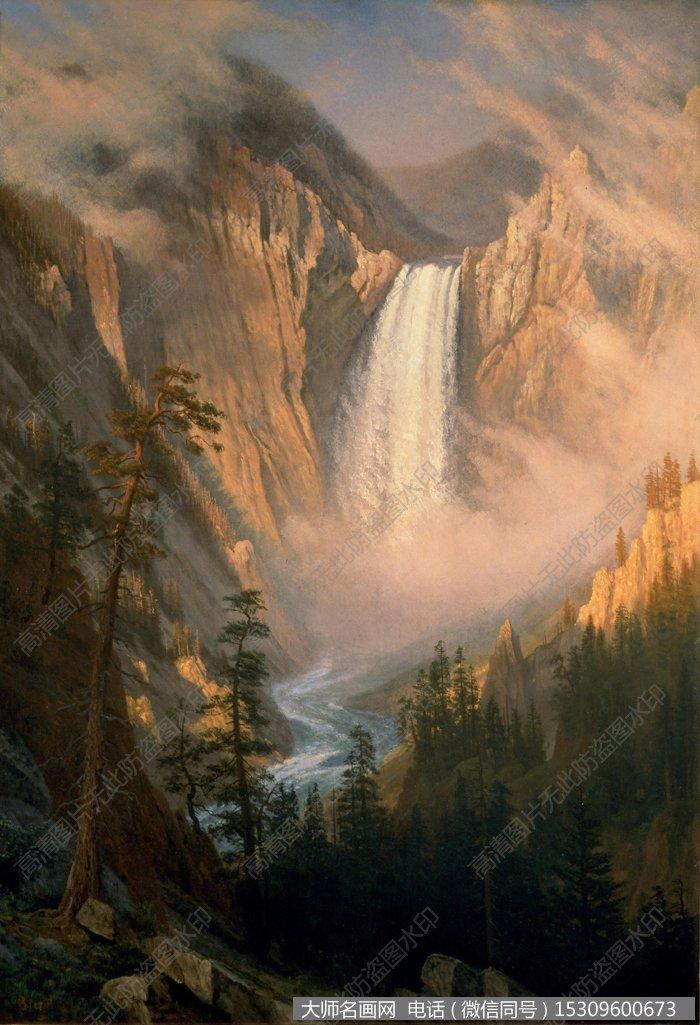 比尔史伯特风景油画作品38 高清图片下载