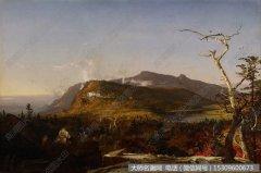 比尔史伯特风景油画作品46 高清图片下载
