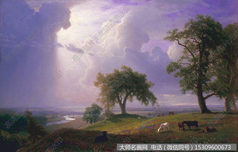 比尔史伯特风景油画作品50 高清图片下载