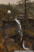 比尔史伯特风景油画作品60 高清图片下载