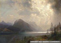 比尔史伯特风景油画作品61 高清图片下载