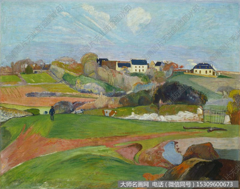 高更 风景油画作品22 高清图片下载_大师名画网