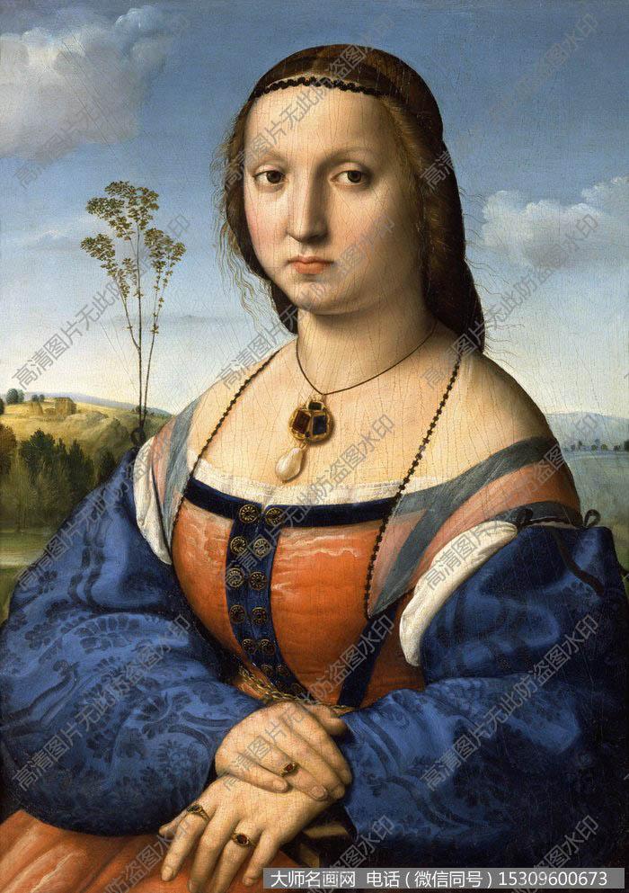 拉斐尔 人物油画作品20 高清图片下载_大师名画网