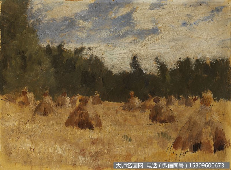 素材价格:¥2 支付方式:         列维坦 风景油画作品21 高清图片