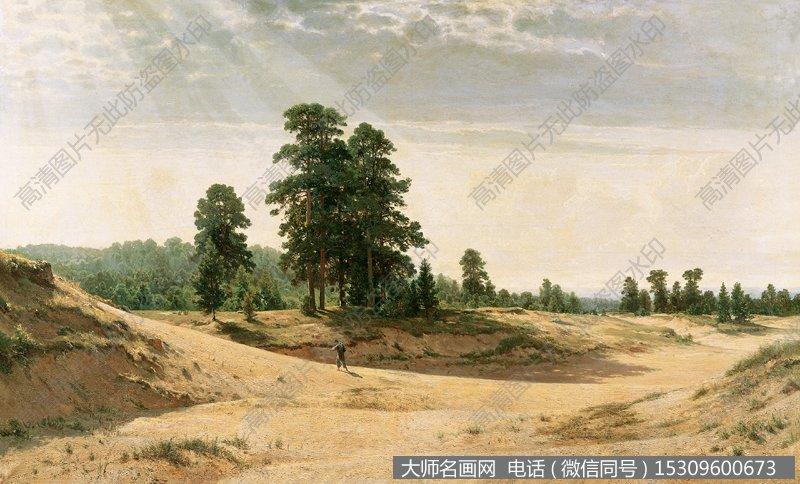希施金 风景油画作品22 高清图片下载_大师名画网