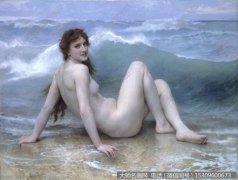布格罗 人物油画作品46 高清图片下载