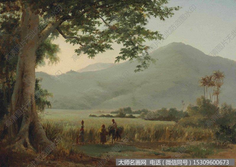 毕沙罗 风景油画作品16 高清图片下载