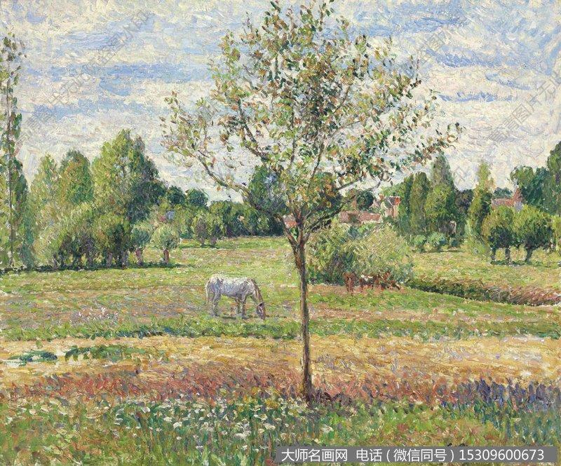 毕沙罗 风景油画作品17 高清图片下载_大师名画网