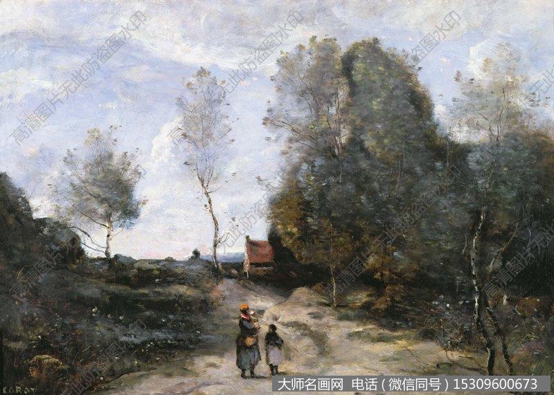 柯罗 风景油画21 高清大图 下载