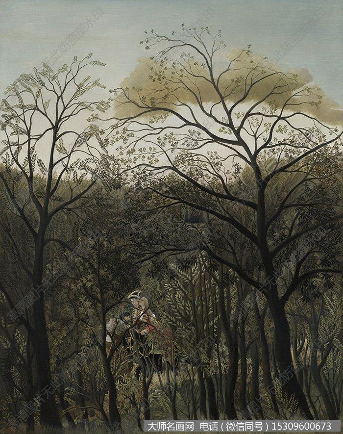 卢梭 油画作品9 高清大图下载