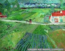 梵高 风景油画作品41 高清大图下载