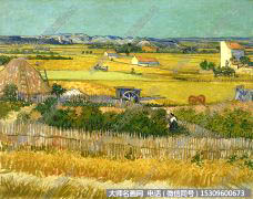 梵高 油画风景作品39 高清下载