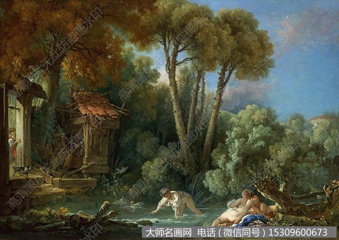 布歇 作品风景油画56 大图下载
