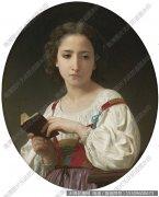 布格罗 油画人物作品高清88下载