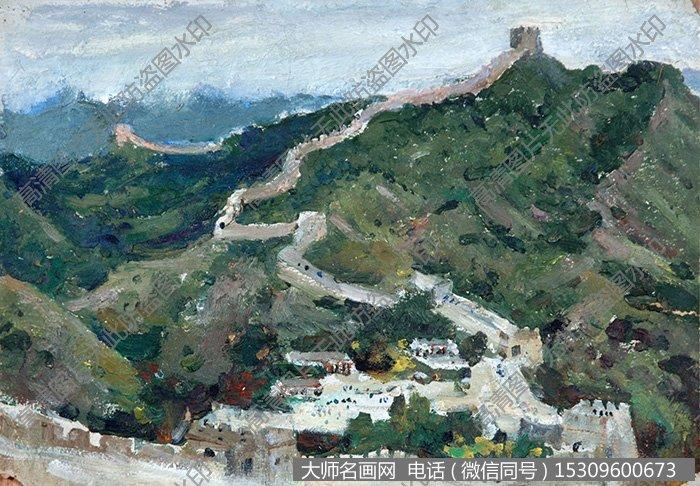 长城 油画作品高清大图52下载:      下载的图片为jpg格式无水印超
