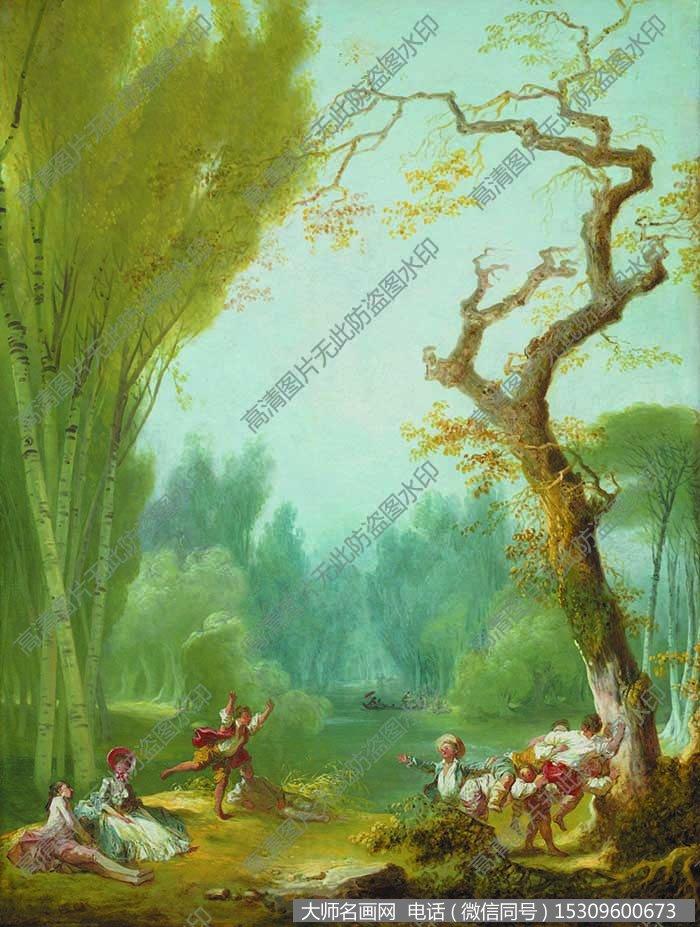古典风景油画 高清大图9下载_大师名画网