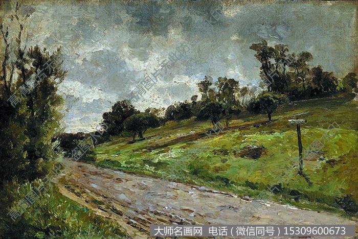 古典风景油画 作品大图高清50下载