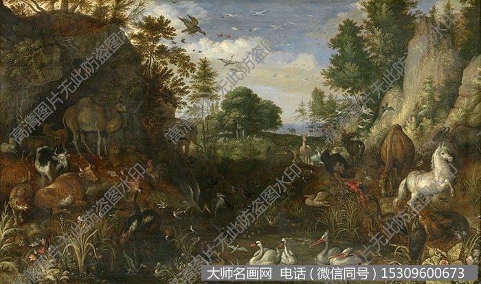 古典风景油画 作品大图高清84下载
