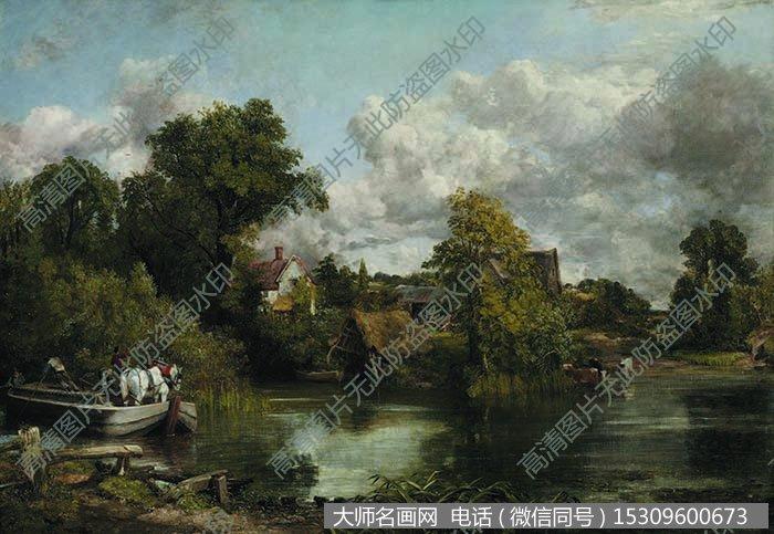 古典风景油画 高清大图85下载