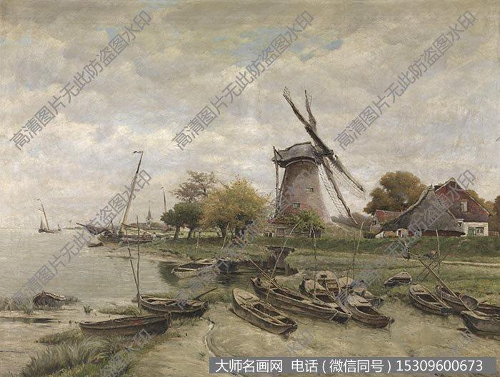 素材价格:¥5 支付方式:         古典风景油画 作品大图高清88下载