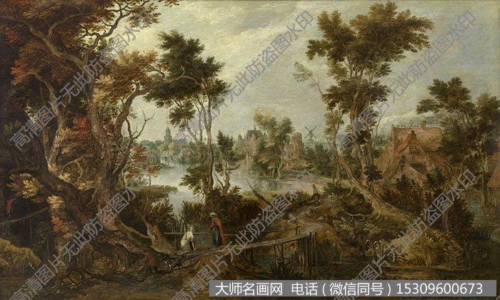 古典风景油画 高清大图91下载