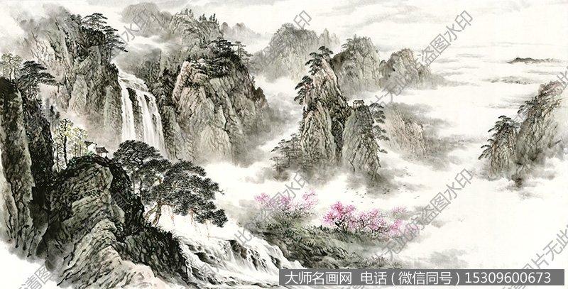 水墨山水国画超高清大图68下载