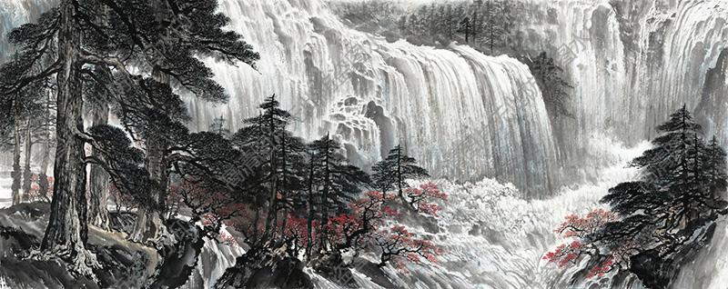水墨山水国画超高清大图69下载