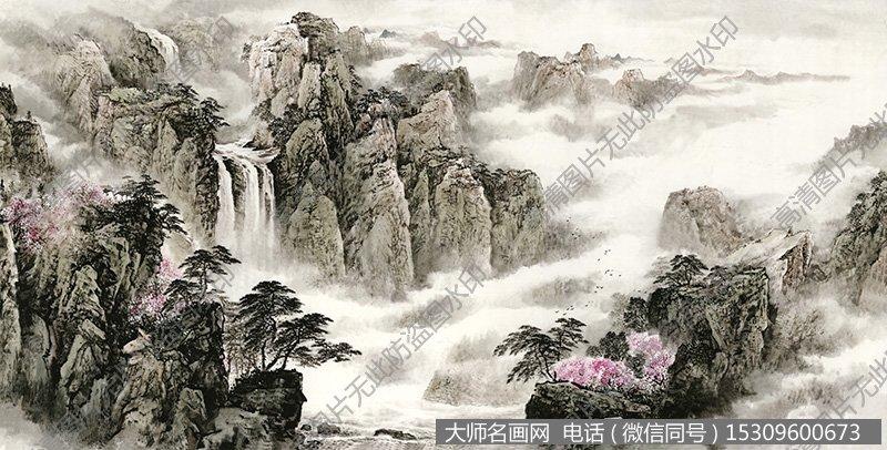 水墨山水国画超高清大图72下载